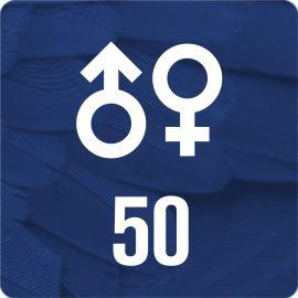 50 DNA-Geschlechtstests