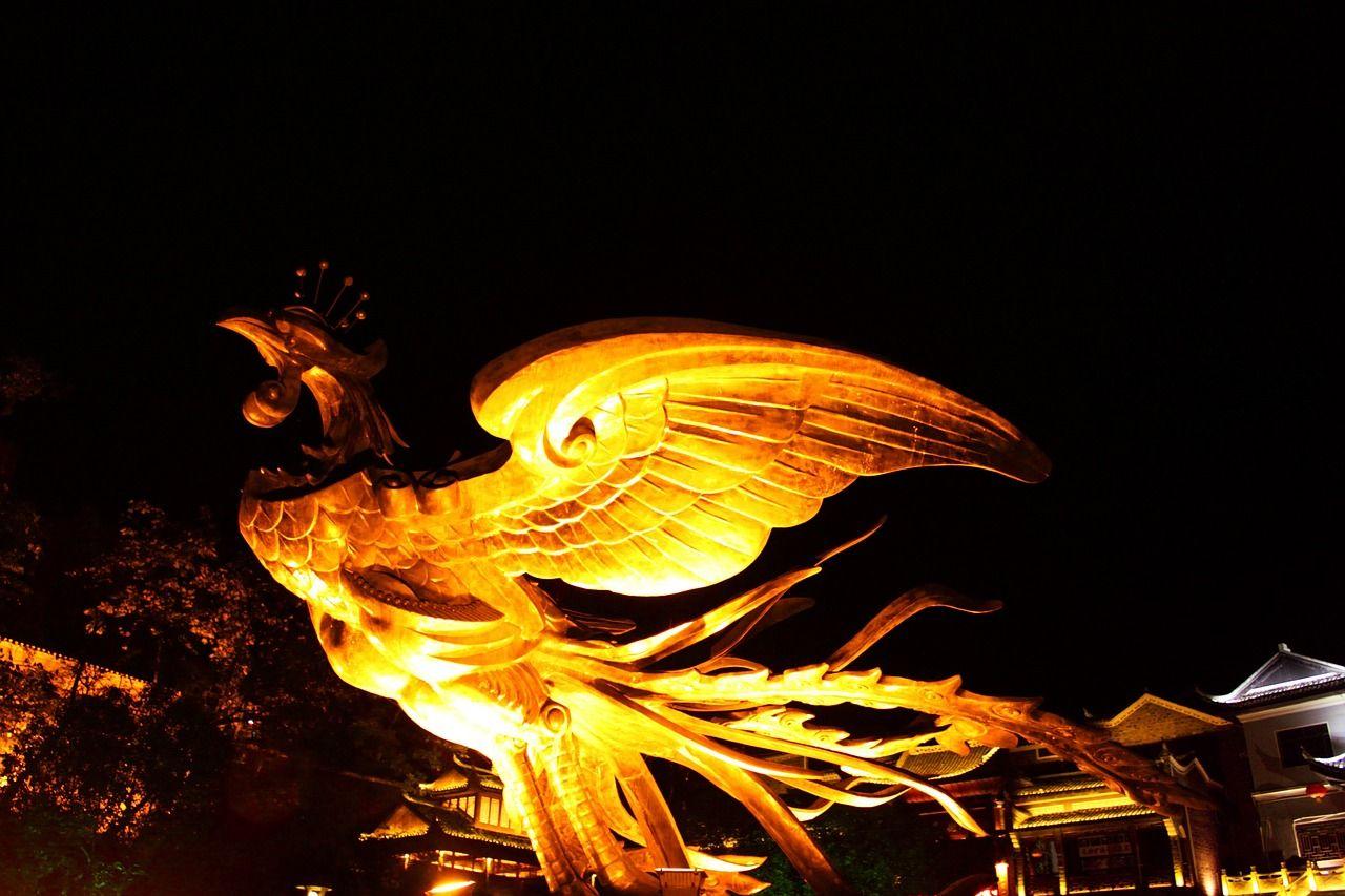 aves mitológicas ave fenix