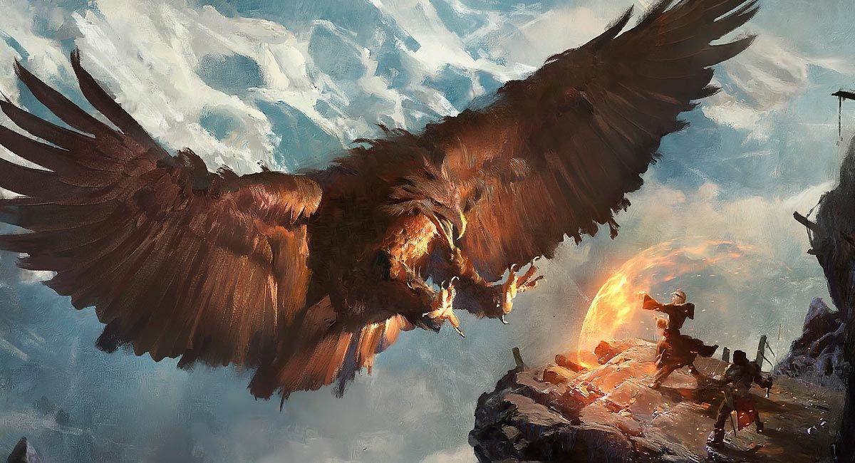 aves mitológicas. Roc